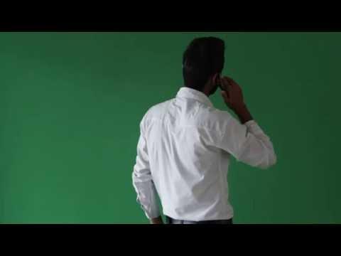 Chroma Shoot Phone Talk !! Green Screen 720p60fps