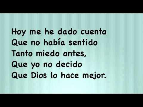 Camila- Abrazame (Lyrics)