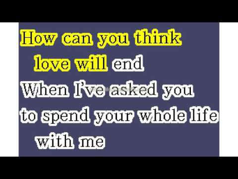 Association The   Never My Love HD Karaoke PK00782