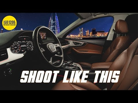 Light Painting Car Interiors (Full Walk-through Photography Tutorial)