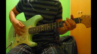 44 When Your Heart Stops Beating Guitar Cover Delonge Stratocaster