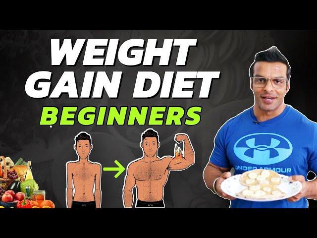 Weight Gain Diet For Beginners   Full Day Diet Plan   Yatinder Singh