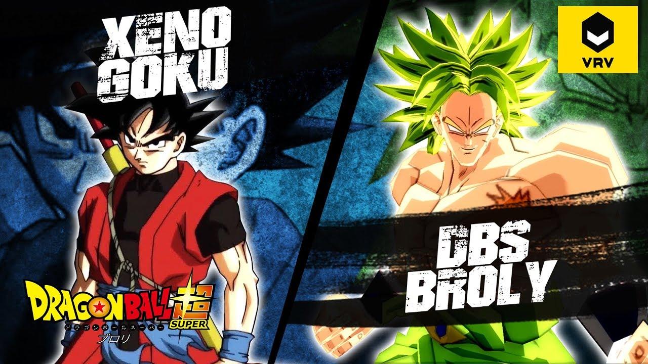 Goku XENO vs Broly Super | WHAT-IF BATTLE | VRV OVERVIEW | DBZ TENKAICHI 3  MOD