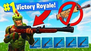 HUNTING RIFLE ONLY CHALLENGE In Fortnite Battle Royale!