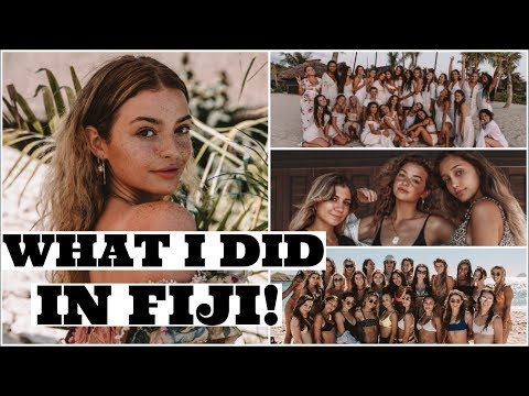 A WEEK in FIJI with your FAV YOUTUBERS!!