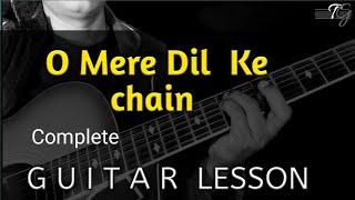 Gambar cover O MERE DIL KE CHAIN SOLO GUITAR LESSON