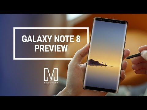 Samsung Galaxy Note 8 Preview
