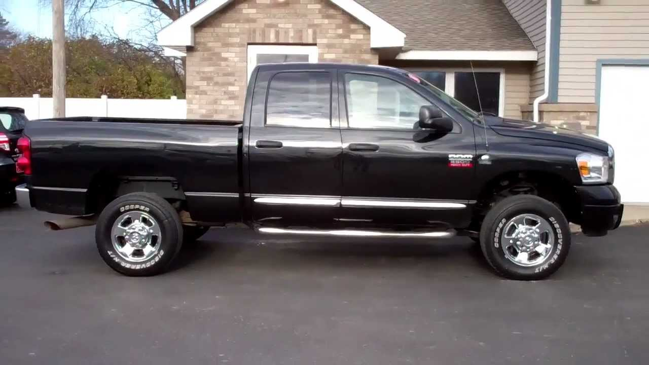 2008 dodge ram 2500 heavy duty laramie cummins diesel 4x4 youtube. Black Bedroom Furniture Sets. Home Design Ideas