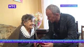 Олег Чемезов поздравил ветерана Великой Отечественной войны
