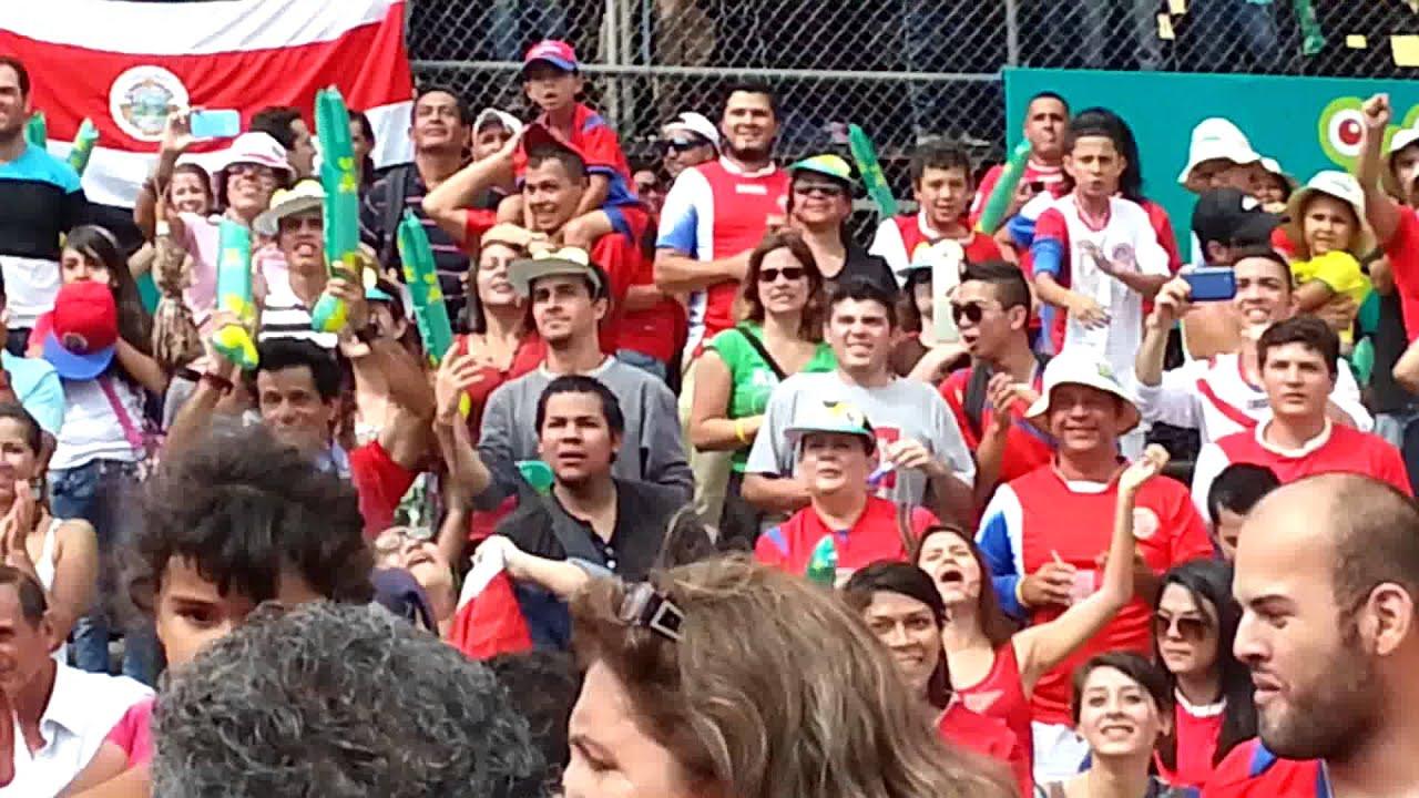 costa rica vs uruguay brasil 2014 plaza de la