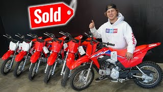 I Bought Every Pit Bike at a Dealership!!