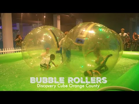 Bubble Roller Exhibit at Discovery Cube Orange County