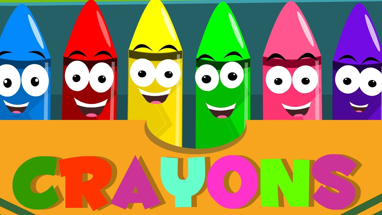 Colors preschool songs - Crayons Color Song Learn Colors Nursery Rhymes For Kids Baby Songs For Childrens Youtube