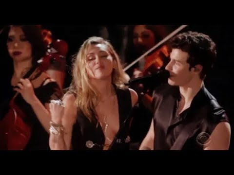 """Shawn Mendes And Miley Cyrus - """"In My Blood"""" Live Performance HD At """"The 61st Grammy Award 2019""""."""