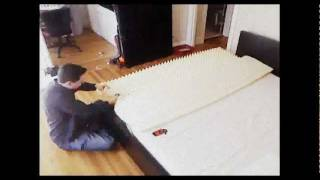 Ikea Malm Bed Time-lapse Assembly