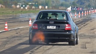 1300HP+ Audi (R)S4 Limo Hannover Hardcore - INSANE SOUNDS!