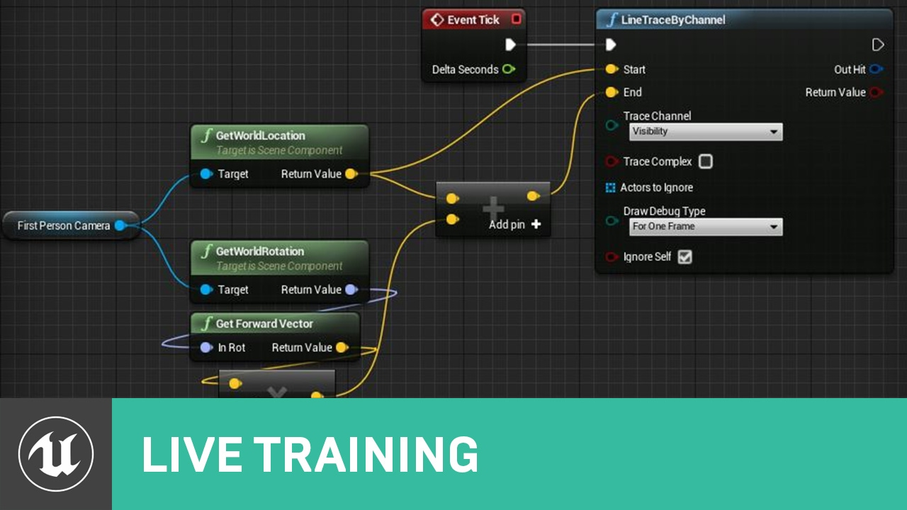 Blueprint line shape traces live training unreal engine blueprint line shape traces live training unreal engine malvernweather Gallery