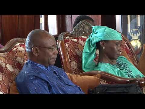 RAIS DK.SHEIN AMEKUTANA NA BALOZI WA NIGERIA NCHINI TANZANIA