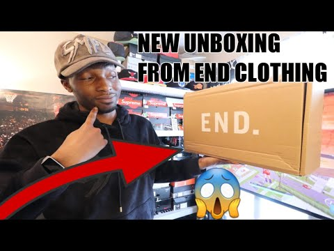 NEW UNBOXING FROM END CLOTHING