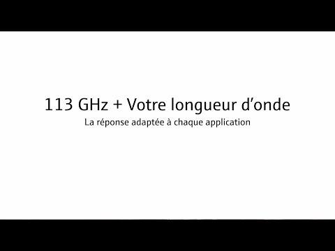 113GHz – Trouvez la bonne fréquence radio pour votre application