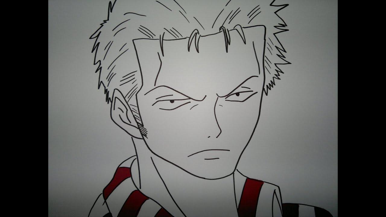 drawing zoro roronoa���183������������ youtube