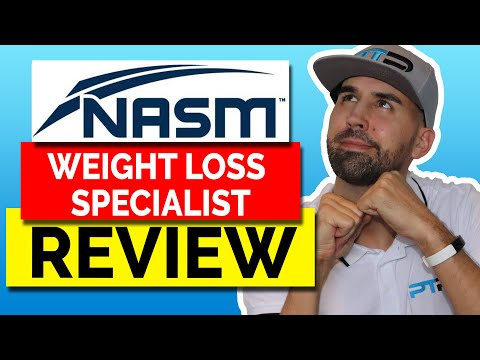 Nasm Wls Weight Loss Specialist Certification Review Youtube