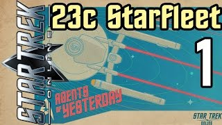 Let's Play Star Trek Online (2016) - 23c Starfleet - 1 - Tutorial Part 1