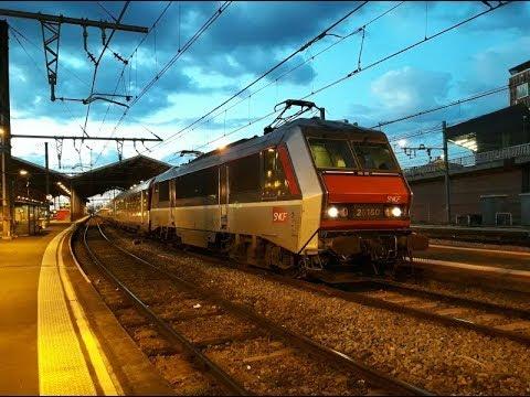 FR#206 - Circulation estival du matin au soir en gare de Toulouse-Matabiau