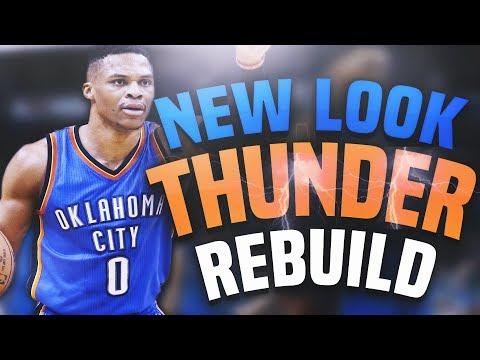 Rebuilding the NEW LOOK OKC THUNDER!! BEST REBUILD EVER?!! - NBA 2K18 MYLEAGUE