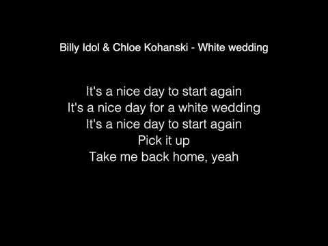 Billy Idol Chloe Kohanski White Wedding Lyrics The Voice 2017
