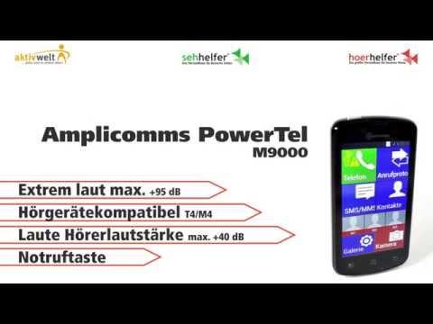 Seniorenhandy Amplicomms PowerTel M9000