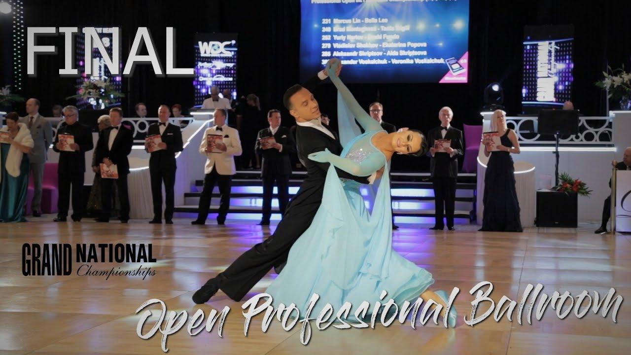 Open Professional Ballroom I Final I Grand National 2019