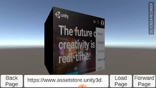 Mobile Web View for Unity Engine (Android platform - Unity 3D Object) by  Unity Direction Kit