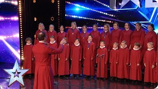 Truro Cathedral Choir sing Elton John! | Auditions | BGT 2019