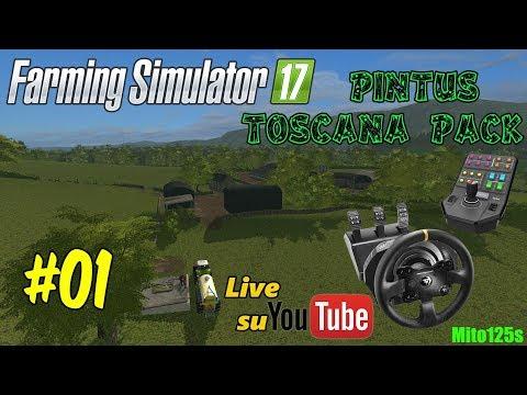 Pintus Toscana Pack #01 Farming Simulator 17 - Tx + Side Pannel