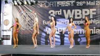 Model Physique -170cm @ WBPF European Championships 2012