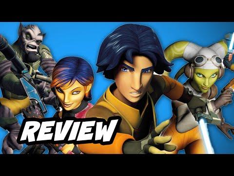 Star Wars Rebels Episode 1 Review No Spoilers - Spark of Rebellion