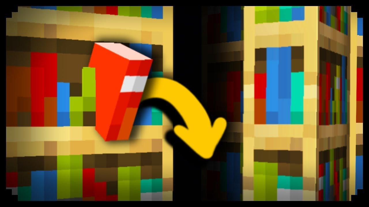 Download ✔ How to Make a Working Secret Bookshelf Door in Minecraft