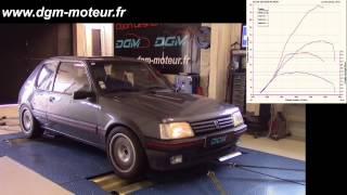 PEUGEOT 205 GTI TURBO moteur 2,0L TCT 150ch - Dijon Gestion Moteur