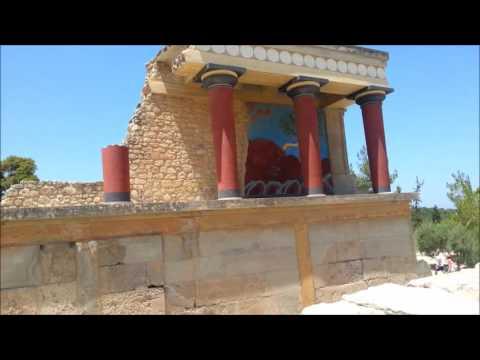 Crete Vlogs - episode 3, Knossos and Heraklion
