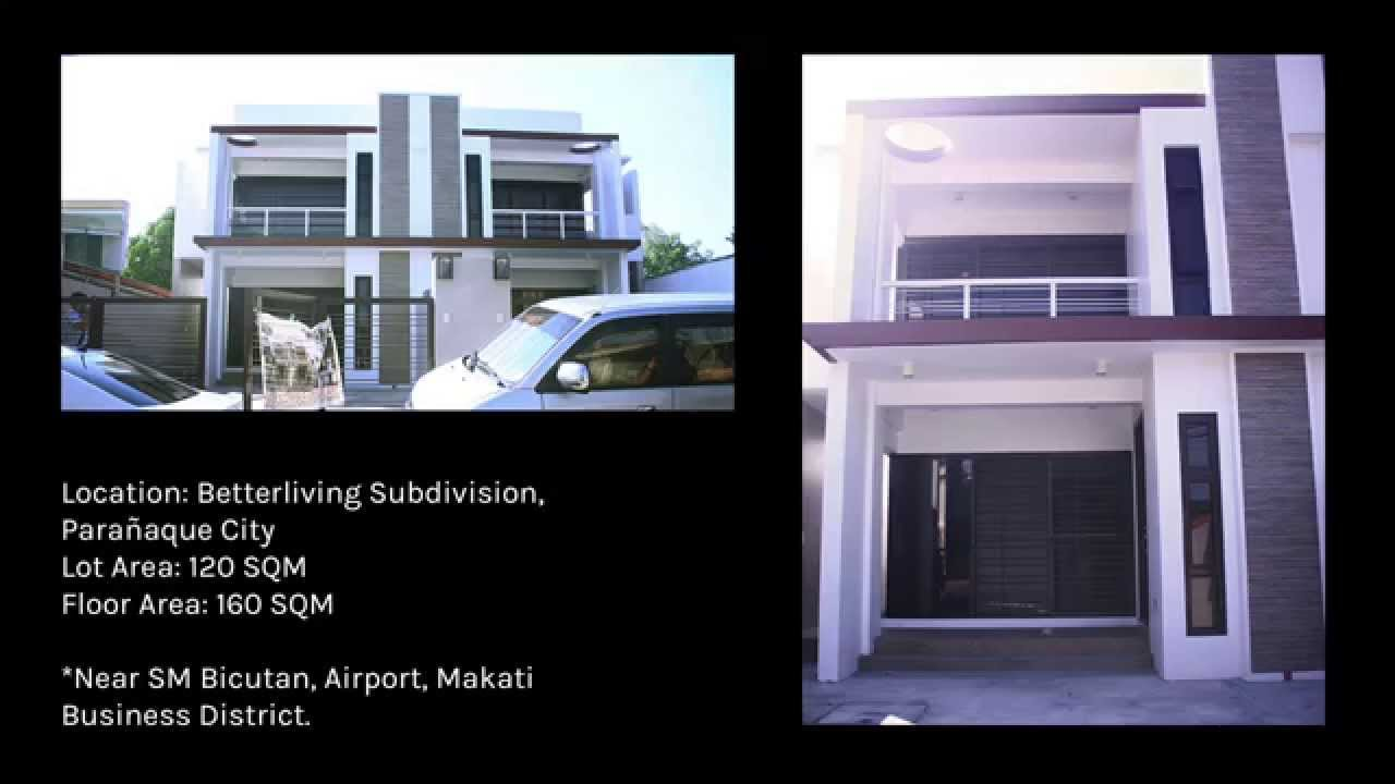 House And Lot For Sale In Better Living Paranaque [Brand New]