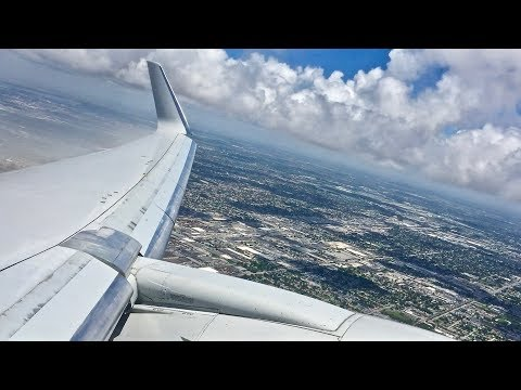 American Airlines – Boeing 767-323/ER – MIA-DFW – Takeoff And Landing – Inflight Series Ep. 90