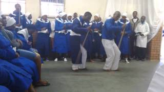 Combination Apostolic Church of South Africa in zion