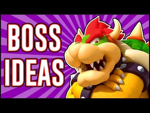 8 MORE Incredible Boss Ideas In Mario Maker 2!