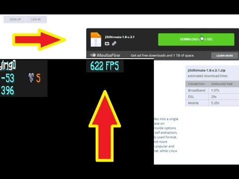 Tutorial- Download+Instal J3Ultimate FPS BOOST Minecraft