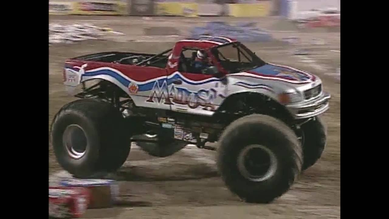 Freestyle Madusa Monster Jam World Finals 2001 Youtube