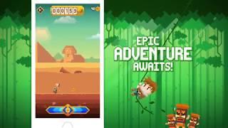 Runventure (iPhone / iPad) Official Trailer - Epic Jump & Run Adventure Game