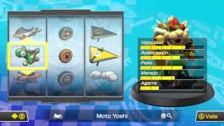 Mario Kart 8 : Mejores Combinaciones Karts vs Motos , Ruedas