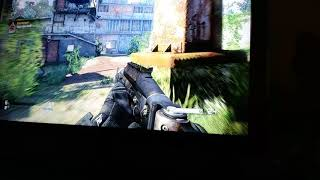 Call of duty ghosts lol my cousin sucks.