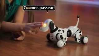 Собака-робот Далматинец Zoomer